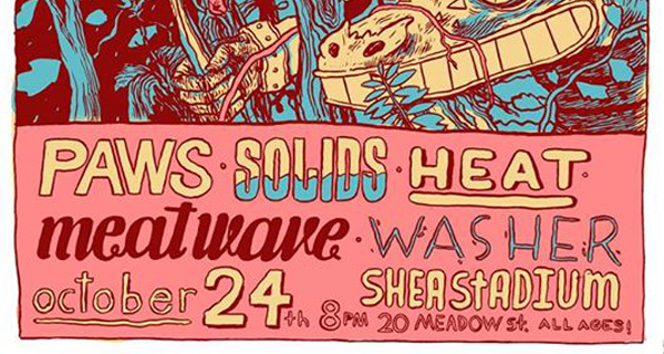 Heavy Trip & Ipsum Present: Paws, Solids, Heat, Meat Wave & Washer