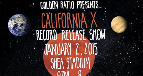 California X Record Release w/ Big Ups, Ovlov & LVL UP