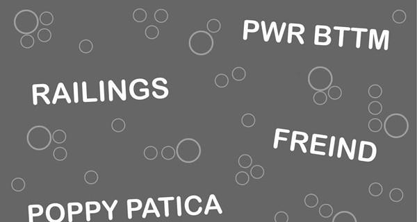 Creative Cycle Benefit w/ PWR BTTM, Freind, Railings, & Poppy Patica