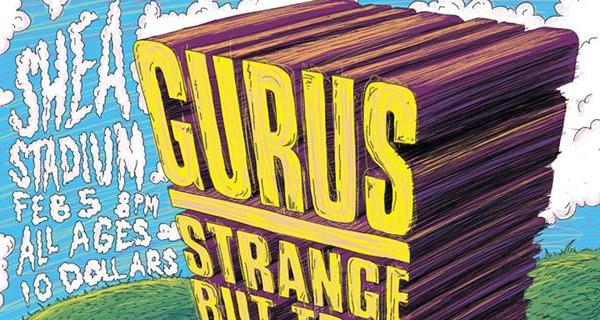 Popgun Presents: Gurus, Strange But True, Wins, Laura & Greg